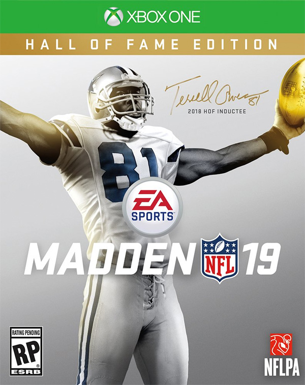 No comeback for Terrell Owens, just Madden cover