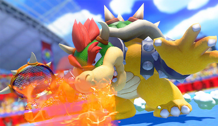 Mario Tennis Aces Demo Datamined Full Character Boss And