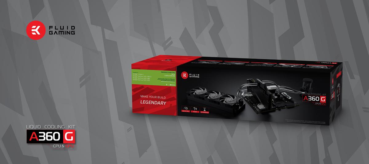 EK Launches EK Fluid Gaming A360G Kit Priced at $299 99