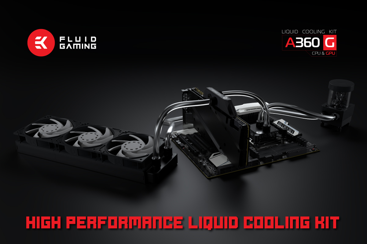 EK Launches EK Fluid Gaming A360G Kit Priced at $299 99