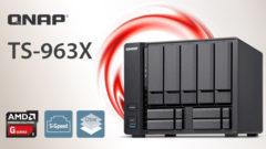 QNAP launches TS-963X 9 Bay AMD Quad Core NAS