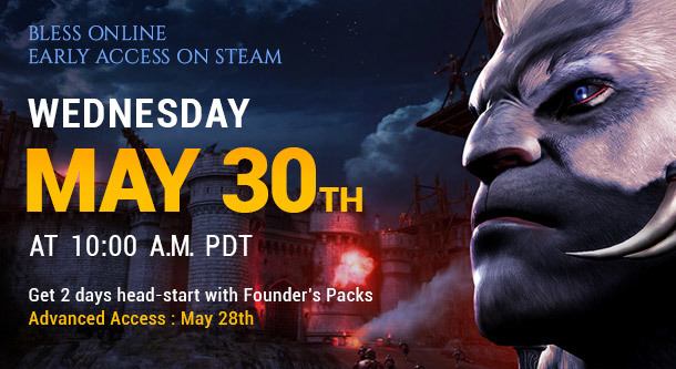 bless online steam release