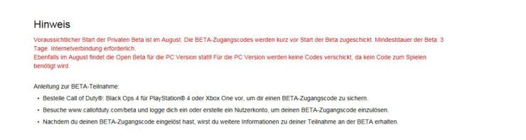 cod black ops 4 beta pc ps4 xbox