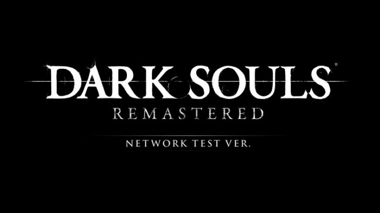 dark souls remastered network test