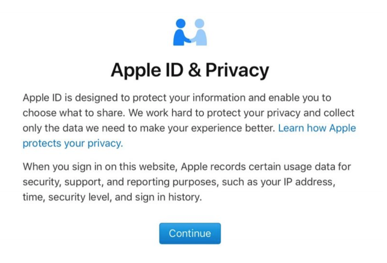 apple data & privacy