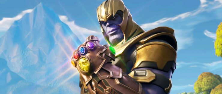 Fortnite 4.1 patch Avengers Infinity War Gauntlet