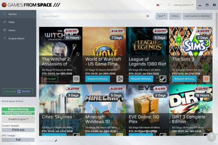 Games From Space Lets You Loan Your Gpu To Get Free Pc Games