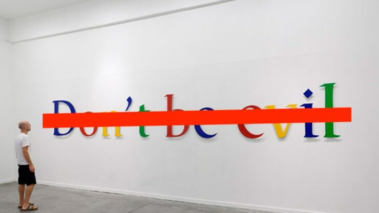 pentagon Google don't be evil project maven