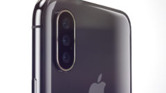 iPhone 2019 triple lens camera 3D sensing optical zoom