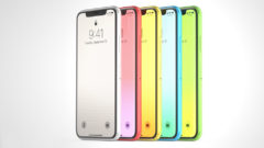 iPhone 9 LCD arriving in yellow blue pink colors