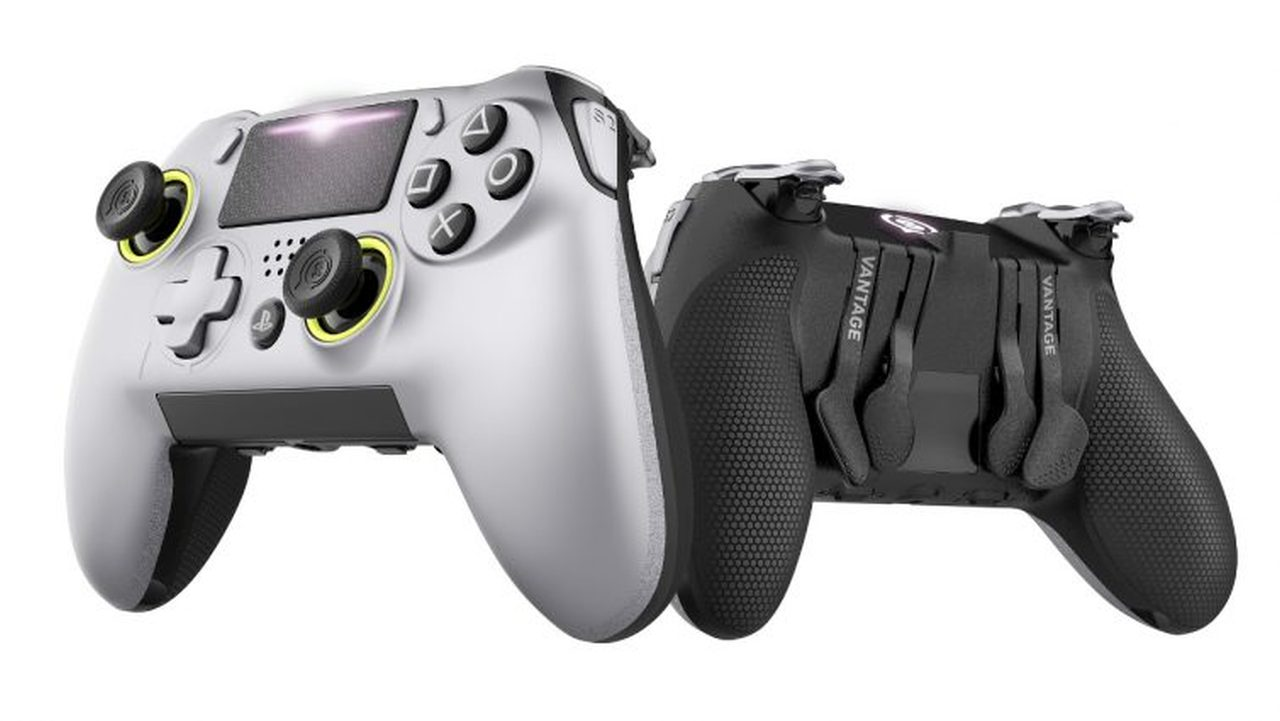 SCUF Vantage Controller Announced for PS4 with Asymmetrical Sticks