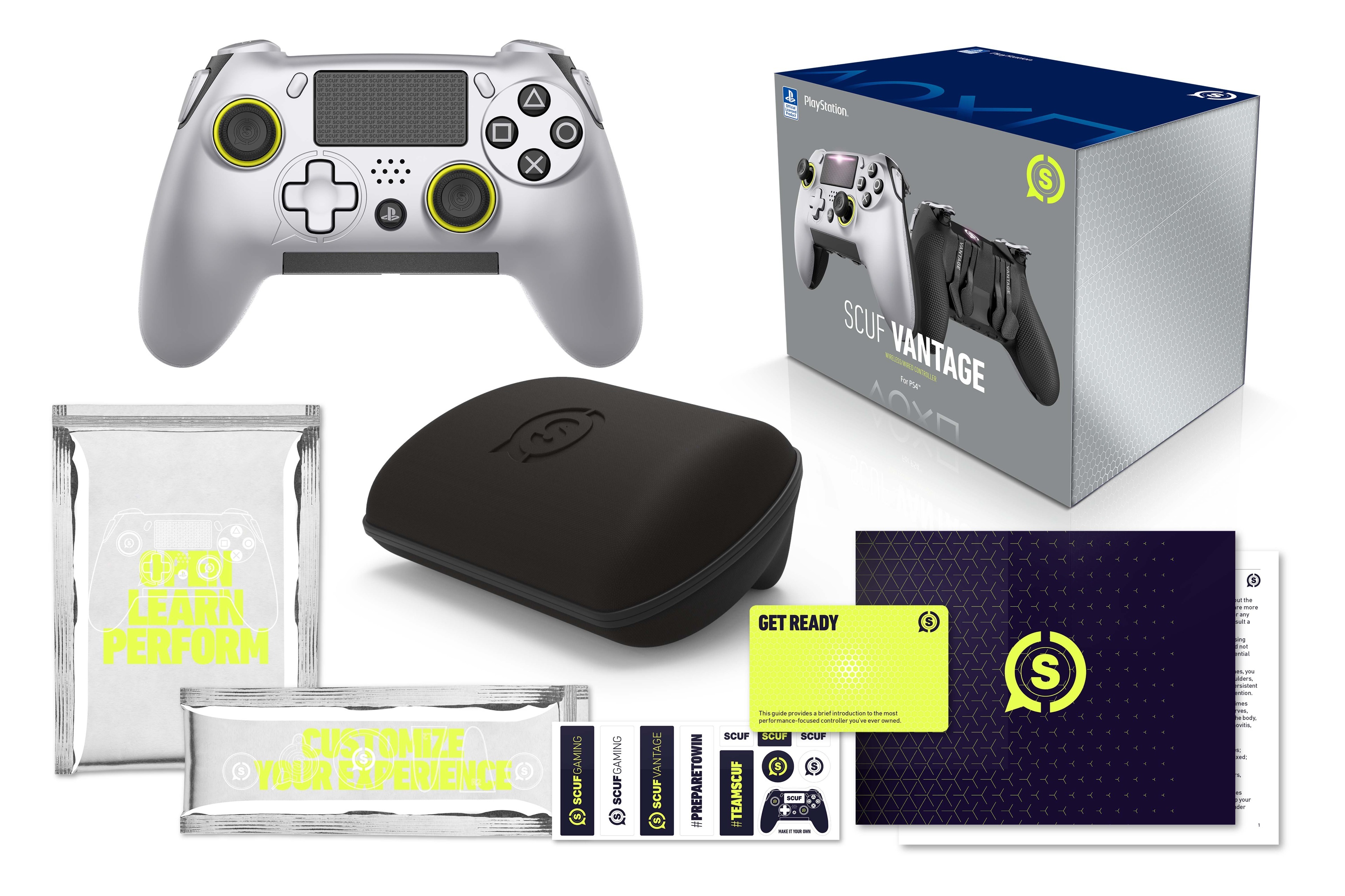 SCUF Vantage Controller Announced for PS4 with Asymmetrical