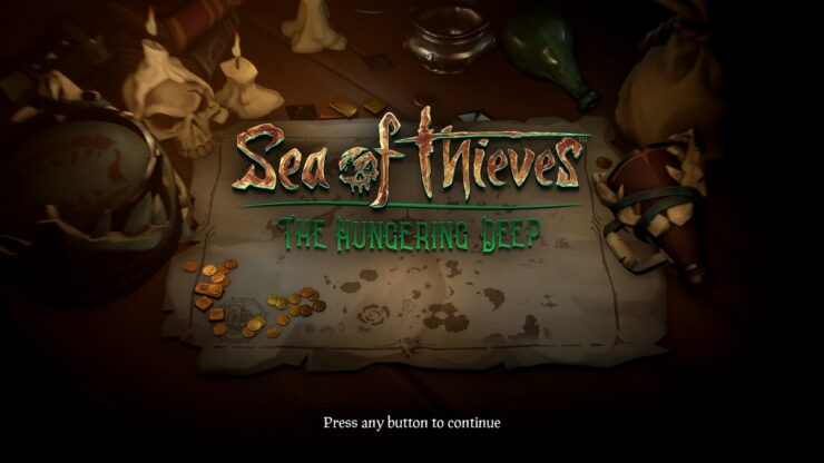 sea of thieves hungering deep patch