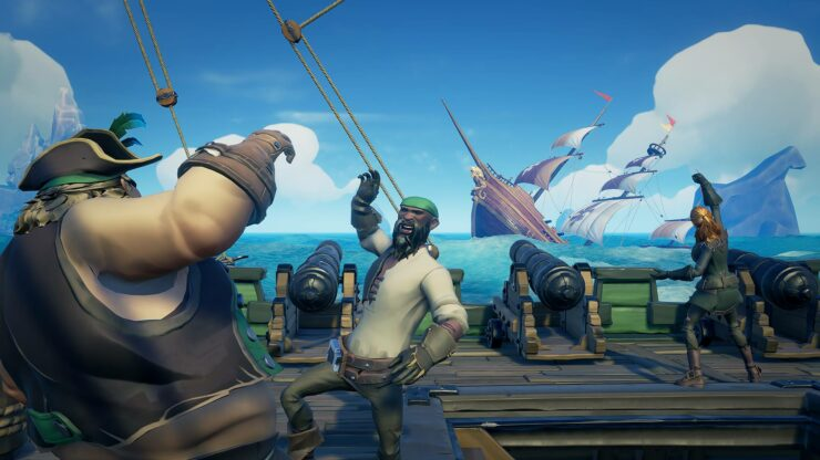sea of thieves how to cancel voyages within quick menu