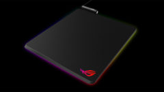 ASUS ROG Balteus Mousepad Comes With LED Lights and a Convenient Feature - Qi Wireless Charger for Your Smartphone