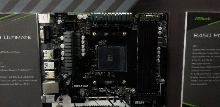 AMD B450 Motherboards From MSI, ASRock, ASUS Spotted at Computex