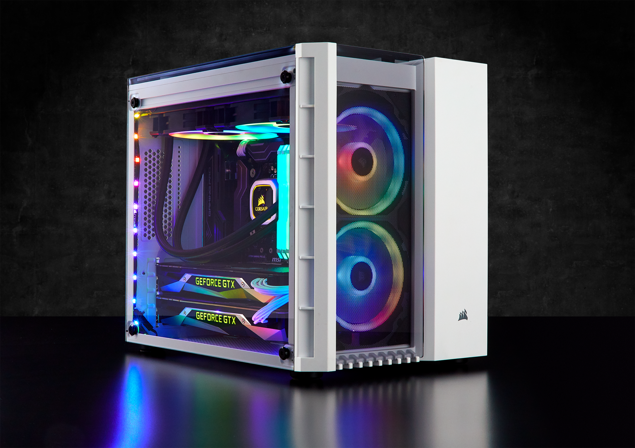 Corsair Extends Pc Gaming Lineup With New Psus Cases Rgb