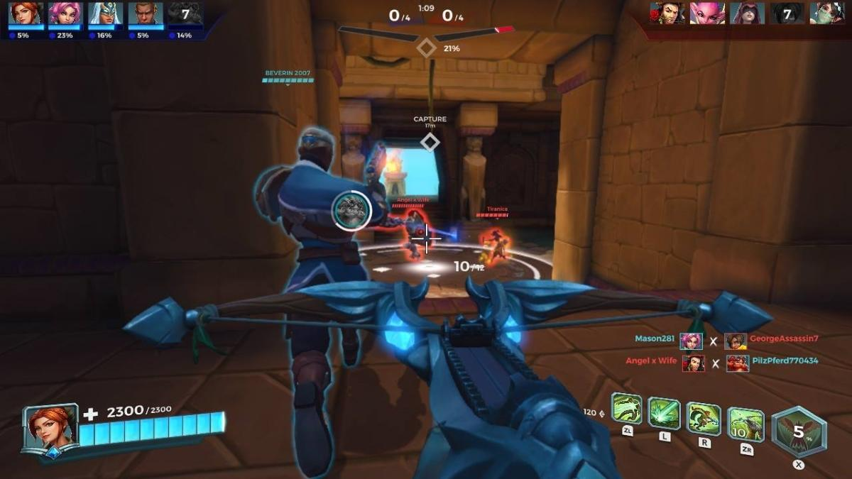 Paladins Nintendo Switch Review - Portable Fun at Your Fingertips