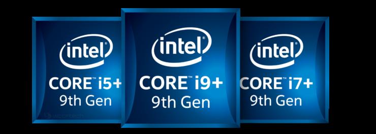 Intel Core i9-9900K, Core i7-9700K, Core i5-9600K