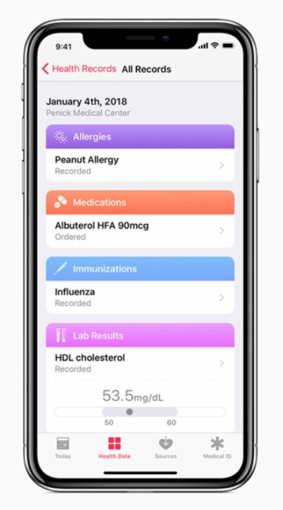 Apple Will Make Health Record Data Available To Third-Party Apps