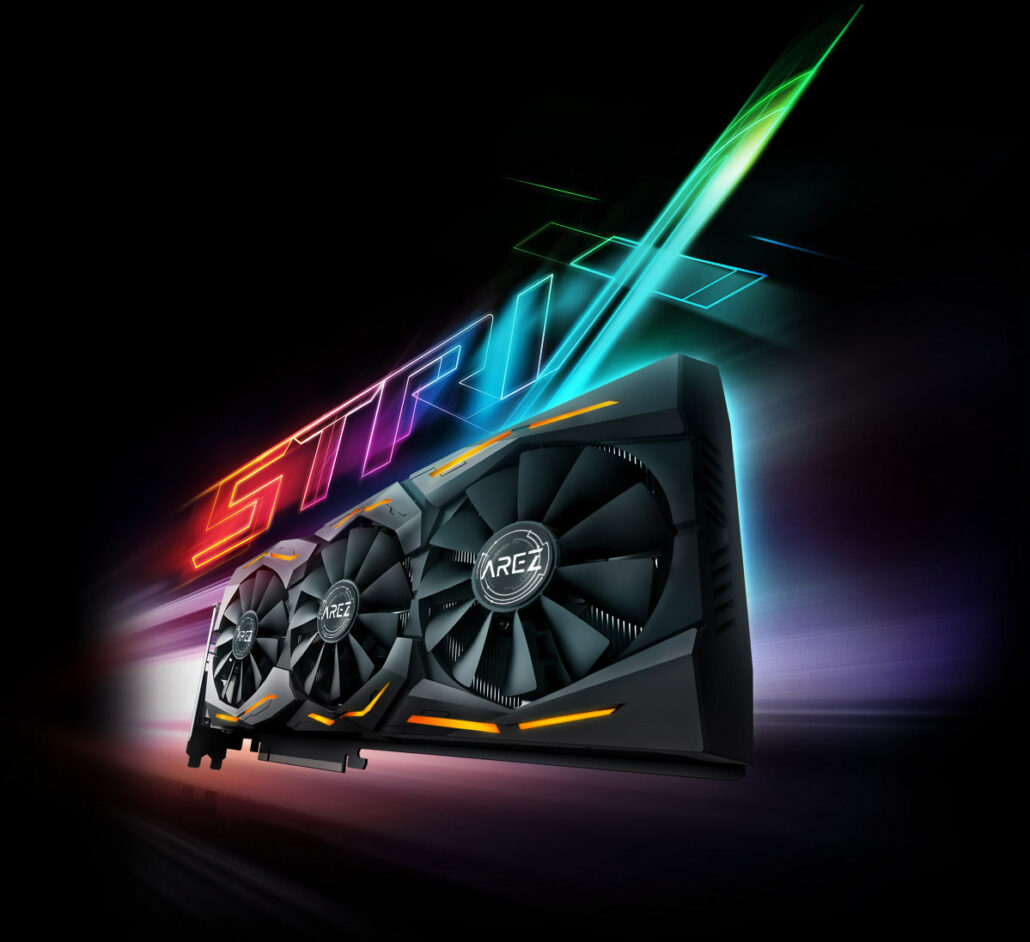 AMD Radeon RX 590 ROG STRIX Gaming Graphics Card