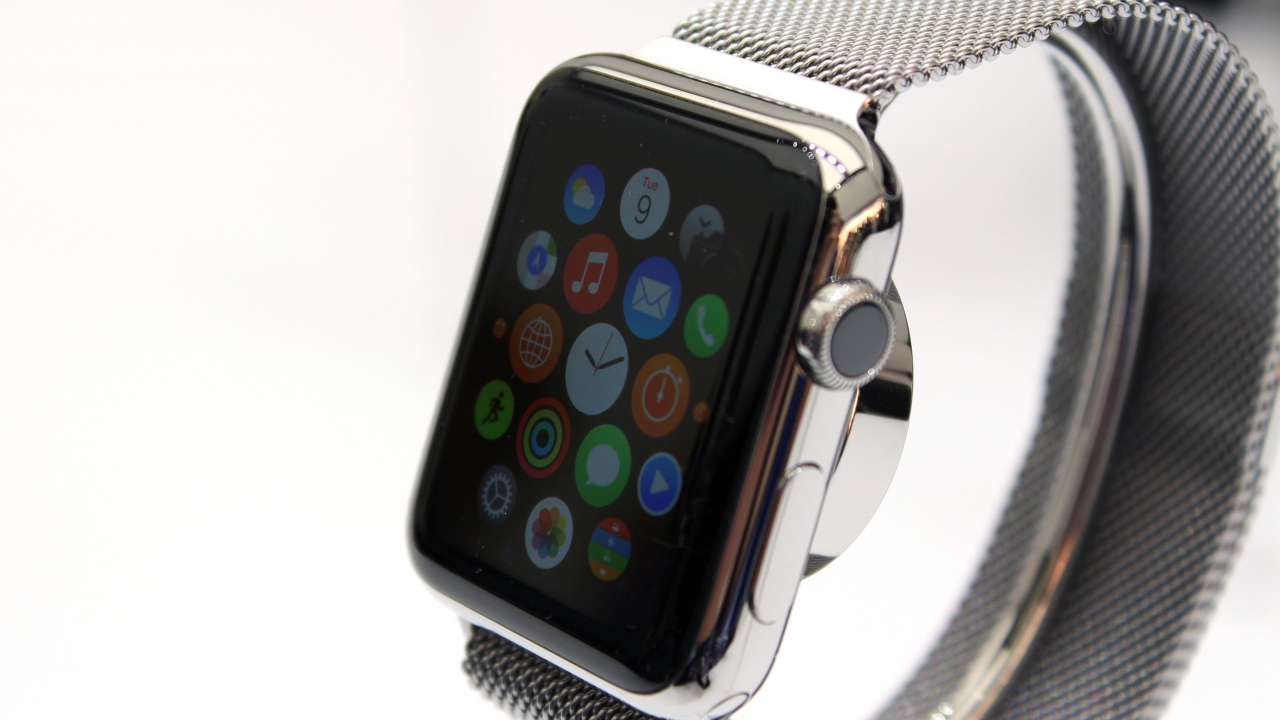 2015 latest wrist watch mobile phone hand watch mobile