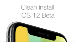 Clean install iOS 12 Beta