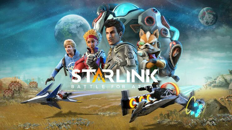 Star Fox em Starlink: Battle for Atlas