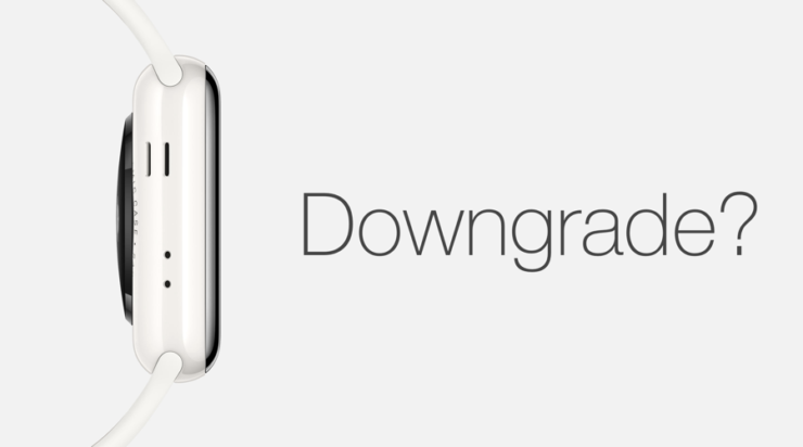 Downgrade watchOS 5 Beta