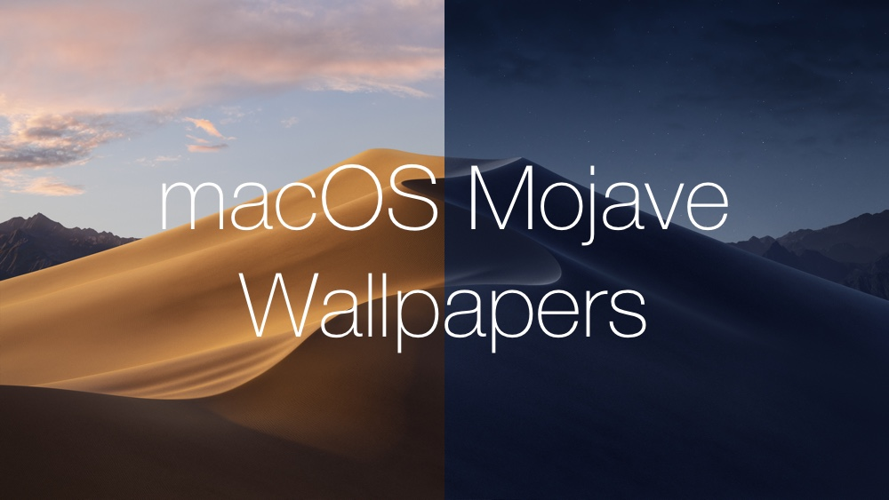 download the new macos mojave wallpapers light and dark