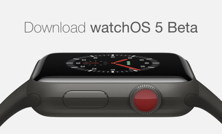 Download watchOS 5 Beta