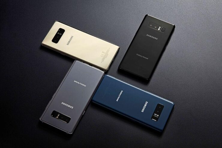 Galaxy Note 9 very similar design Galaxy Note 8