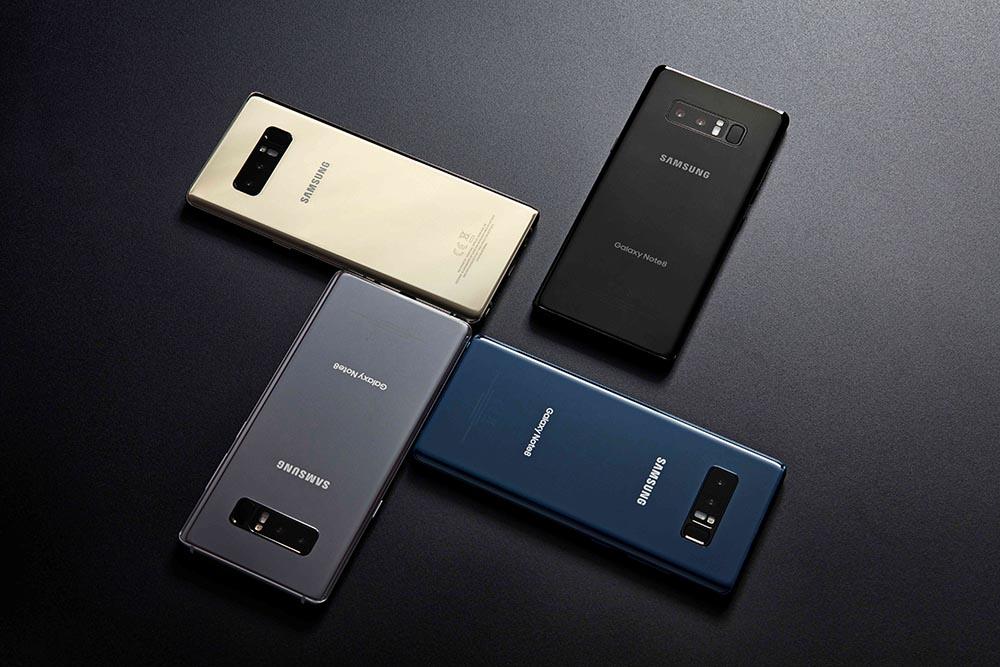 Galaxy Note 9 very similar design Galaxy Note 8