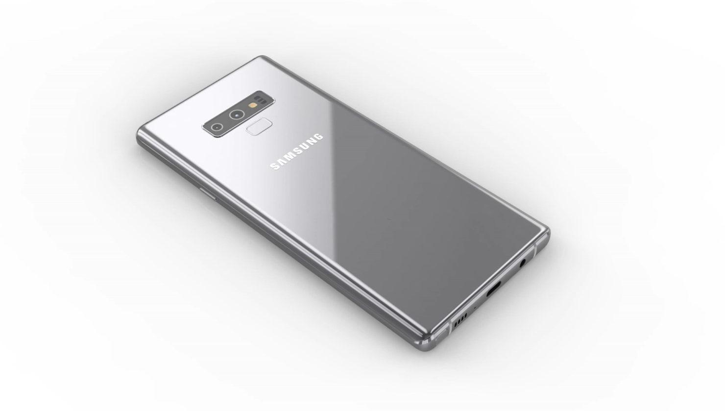 Galaxy Note 9 camera orientation undecided