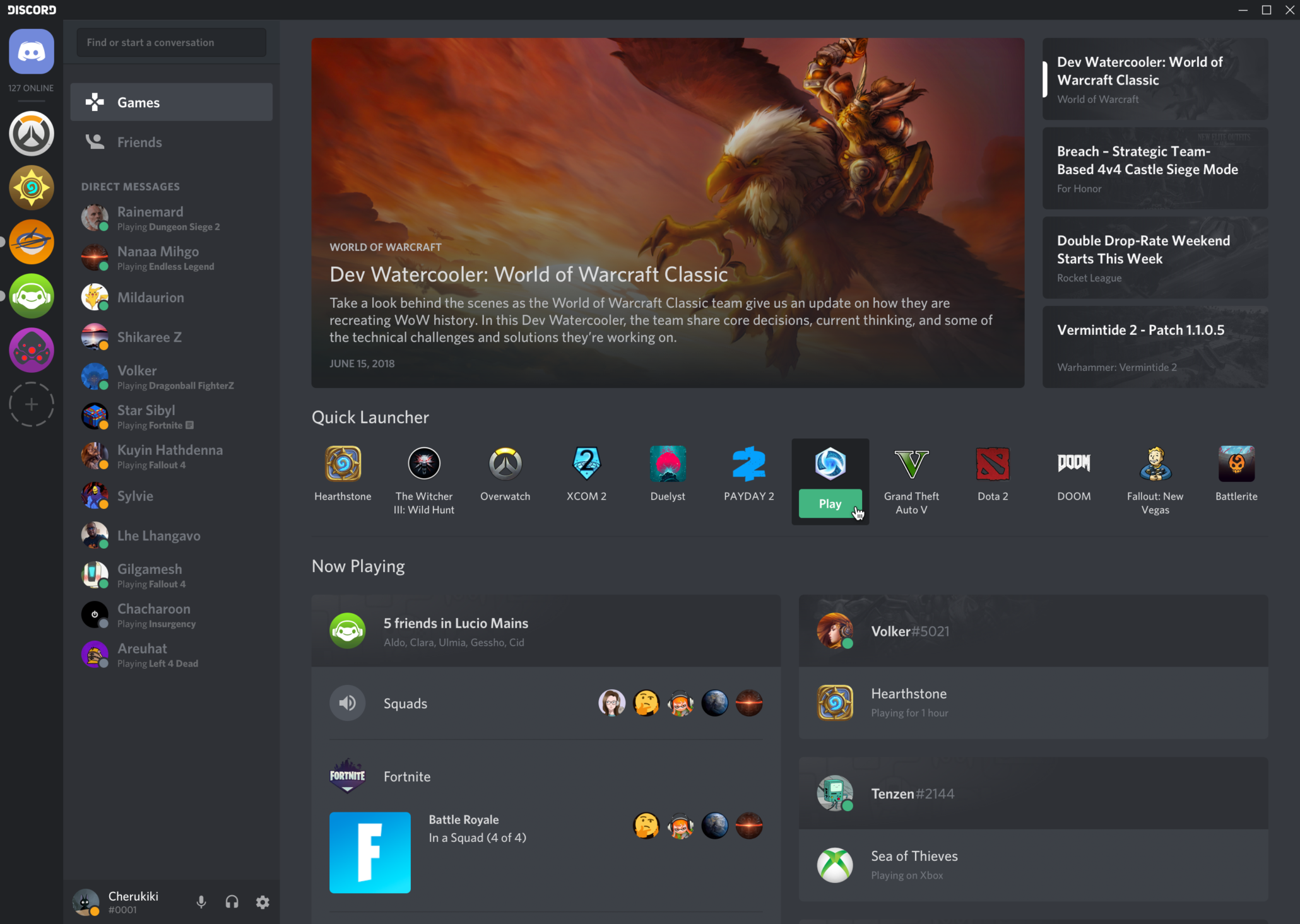 Discord launches steam like games tab after steam had launched discord launches steam like games tab after steam had launched discord like features stopboris Choice Image