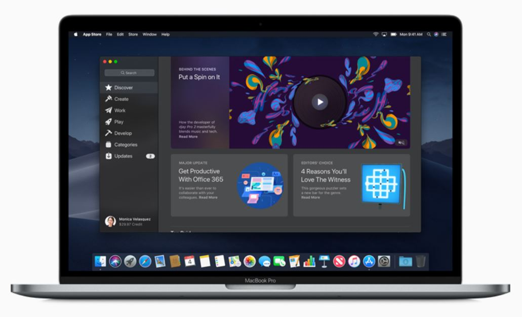 e9292b75e Apple Reveals New Mac App Store At WWDC 2018 Taking Clear Design Cues From  iOS