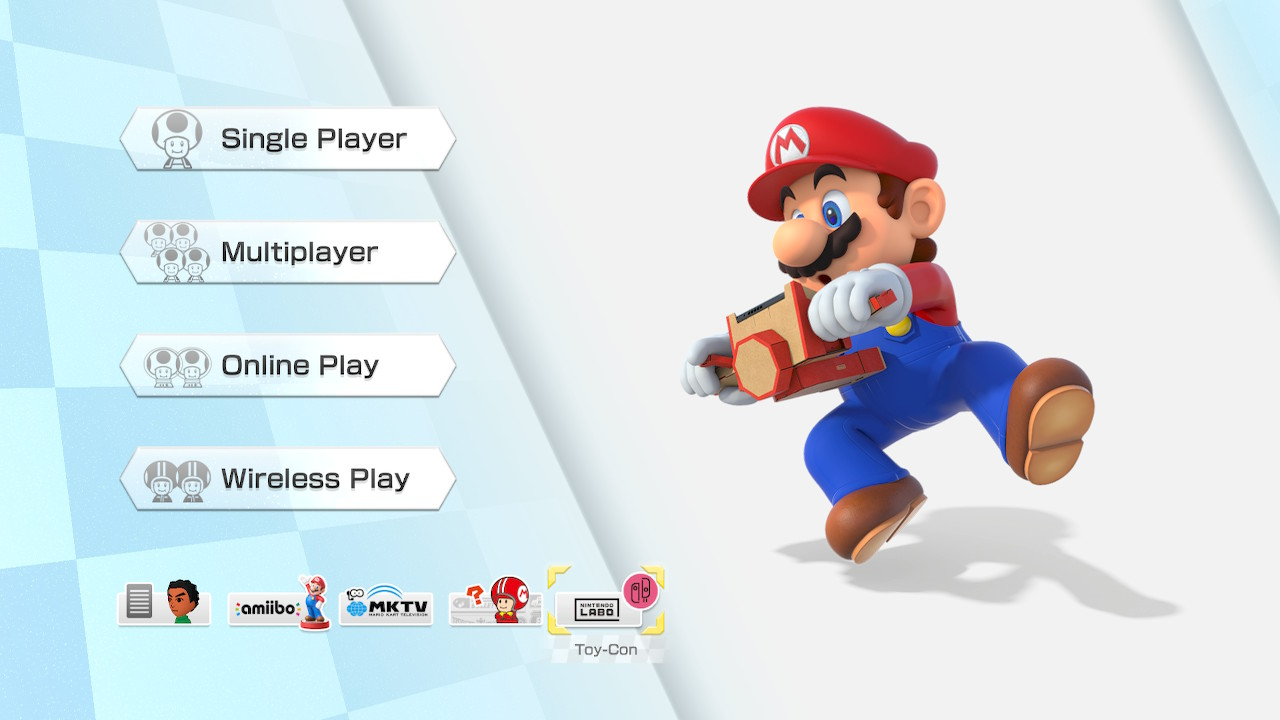 Mario Kart 8 Deluxe Now Supports Nintendo Labo More Titles To Get Support In The Future