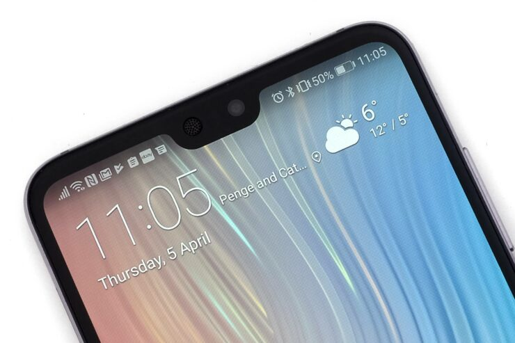 Huawei Mate 20 Alleged Render Shows off a Borderless Design and Front Camera to Get 3D Facial Recognition System