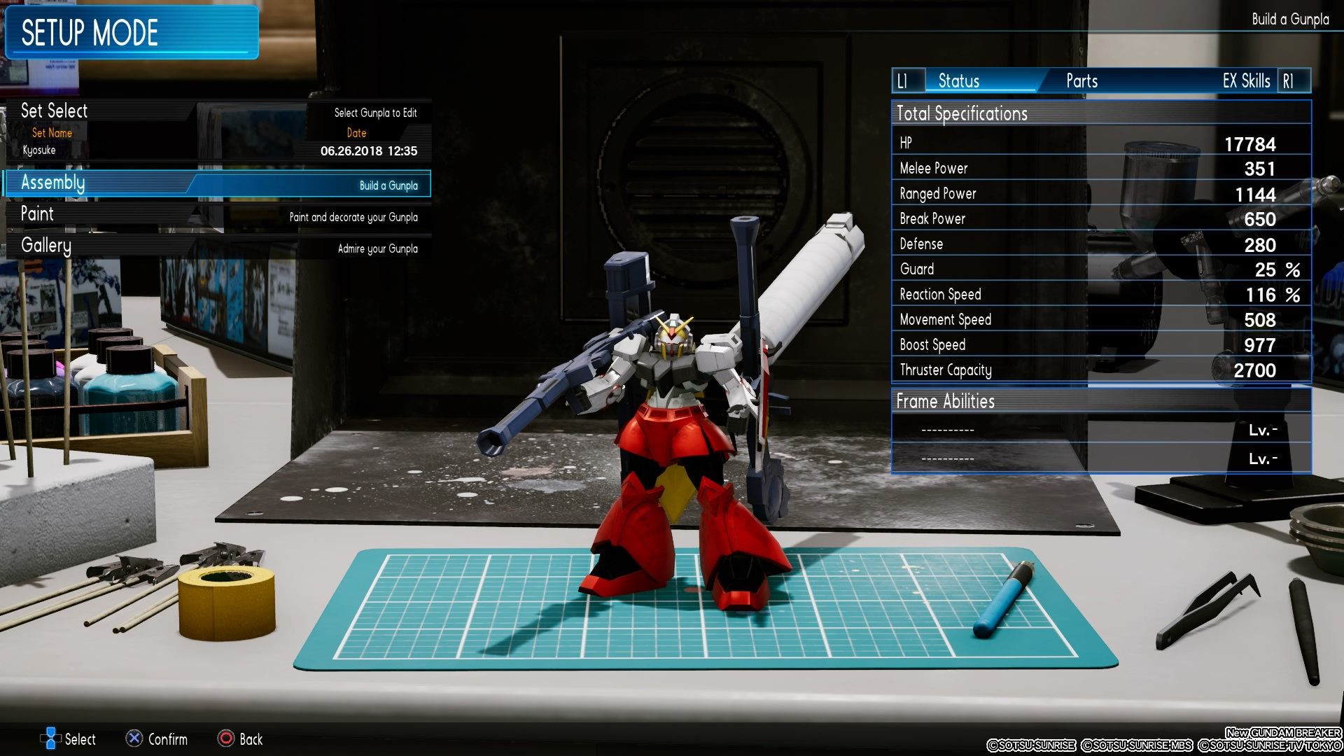 Gundam Models T Bandai Sd Bb 364 Oo Qant Qanta Quanta The Games Main Campaign Is Also Focused On Gunpla Building And Battling Character Kyosuke Who Can Be Renamed At Beginning Of Story