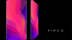 OPPO Find X 93.8 percent screen to body ratio