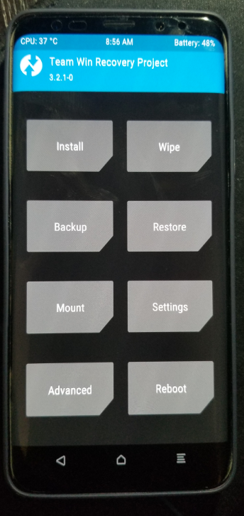 Samsung Galaxy S9/Galaxy S9+ Get an Unofficial Version of TWRP