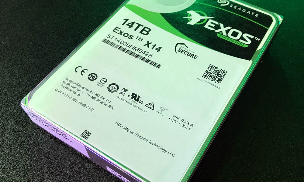 Seagate 14TB Exos Hard Drives Means a Boatload of Storage for Mainstream Consumers
