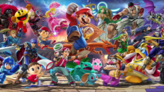 Super Smash Bros Ultimate Switch Sales