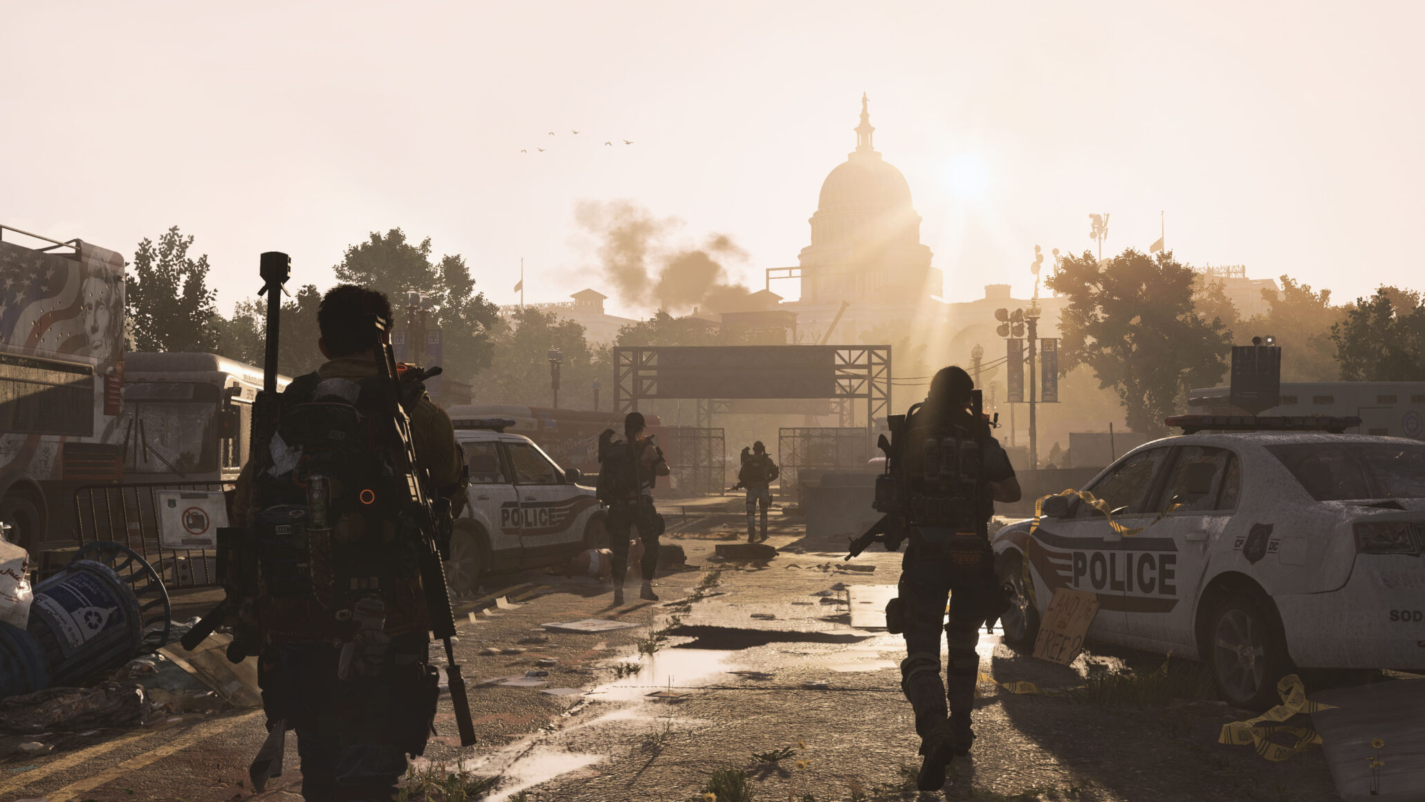 Map Of World Bosses In The Division.The Division 2 Features Eight Player Raids Dynamic Living World