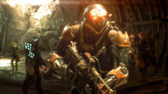 Anthem gameplay e3