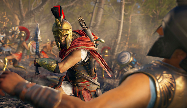 Assassin S Creed Odyssey Ama Confirms Kassandra As Canon Hero