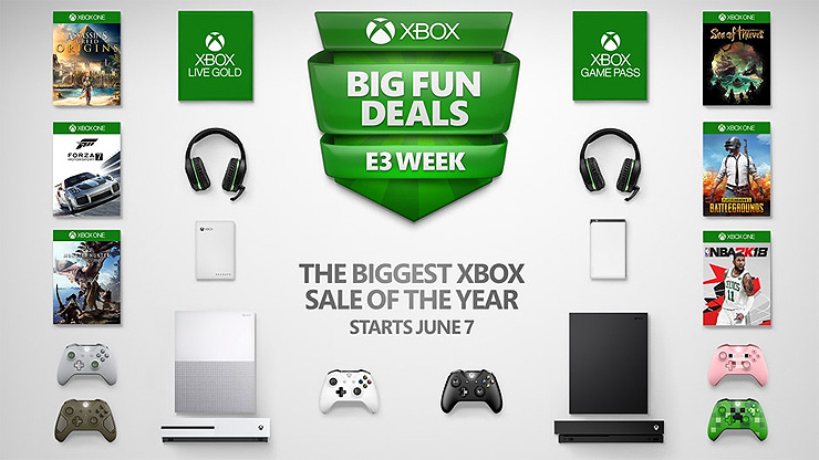 Microsoft Discounts Xbox One X For E3 2018 Week