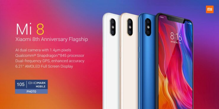 Xiaomi Mi 8 vs OnePlus 6, both Snapdragon 845 Flagships