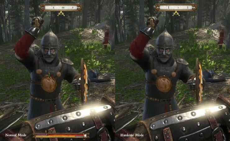 hardcore mode kingdom come deliverance patch 1.6