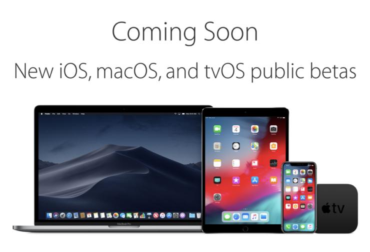 iOS 12 public betas